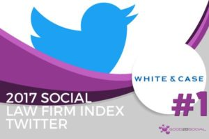 Social Law Firm Index 2017 White & Case